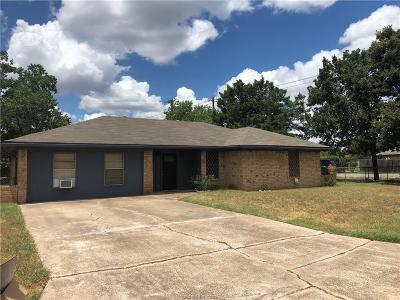 Bryan TX Single Family Home For Sale: $148,650
