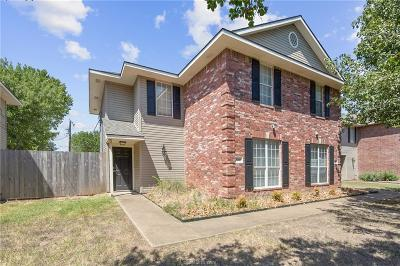 Brazos County Multi Family Home For Sale: 1208 Oney Hervey Drive