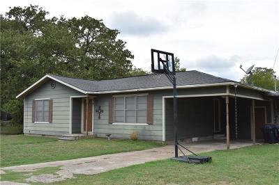 Burleson County Single Family Home For Sale: 372 7th Street