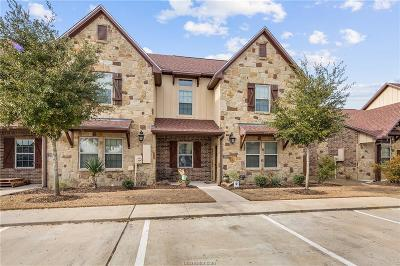 Brazos County Condo/Townhouse For Sale: 2904 Old Ironsides Drive