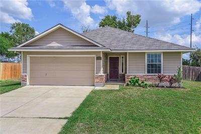Bryan TX Single Family Home For Sale: $157,900