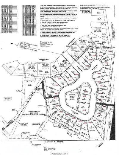 College Station Residential Lots & Land For Sale: 6955 Halter
