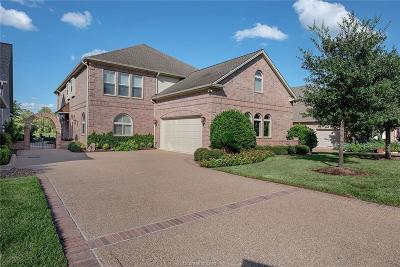 Brazos County Single Family Home For Sale: 4756 Stonebriar