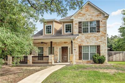 College Station Single Family Home For Sale: 1001 Welsh Avenue