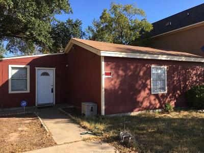 Bryan Single Family Home For Sale: 108 Waverly Drive