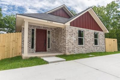 Bryan Single Family Home For Sale: 1728 Louis Street