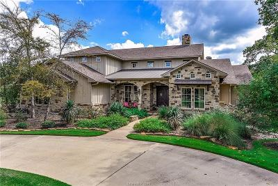 College Station Single Family Home For Sale: 17496 Creek Crossing Court