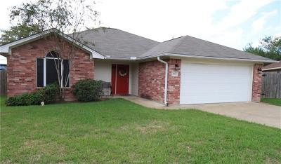 Bryan Single Family Home For Sale: 2501 Pinon Court