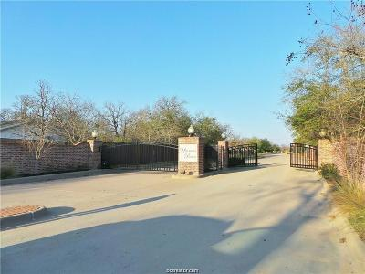 College Station Residential Lots & Land For Sale: 1019 Sanctuary Court