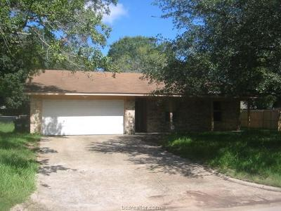 College Station Single Family Home For Sale: 1409 Austin