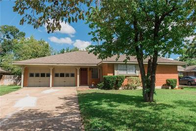 Bryan Single Family Home For Sale: 2505 Carter Creek