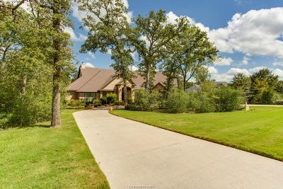 Brazos County Single Family Home For Sale: 18299 Cantle Court
