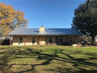 North Zulch Single Family Home For Sale: 2147 North King Road