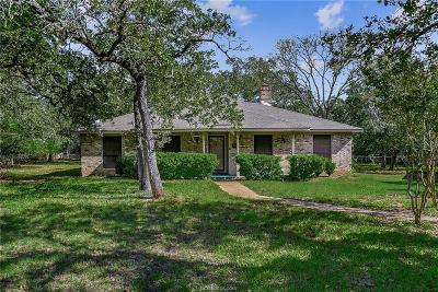 College Station Single Family Home For Sale: 2416 Friar Circle