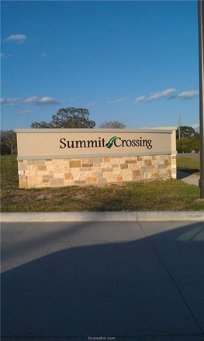 College Station Condo/Townhouse For Sale: 1757 Summit Crossing Lane Lane