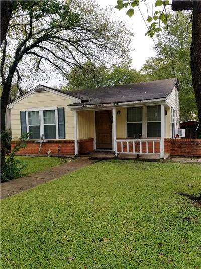 Brazos County Single Family Home For Sale: 202 Kosarek Street