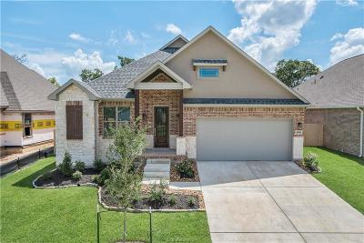 College Station Single Family Home For Sale: 4016 Brownway Drive