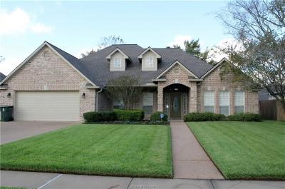 Bryan Single Family Home For Sale: 4906 Park Hampton Drive