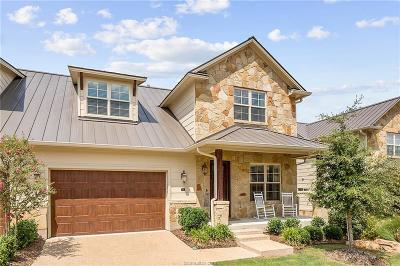 Brazos County Single Family Home For Sale: 3400 Heisman Circle #7M