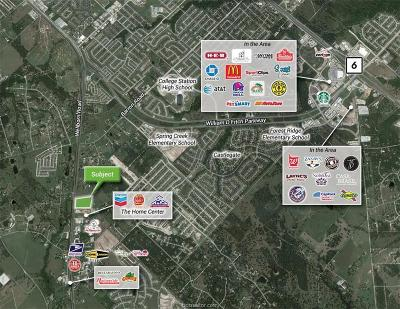 College Station Residential Lots & Land For Sale: 9999 Wellborn Road