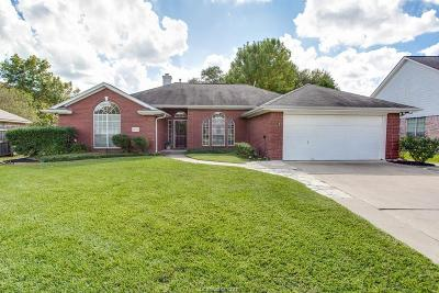 College Station Single Family Home For Sale: 1702 Starling Drive