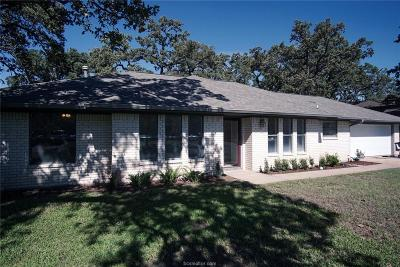 College Station TX Single Family Home For Sale: $224,000