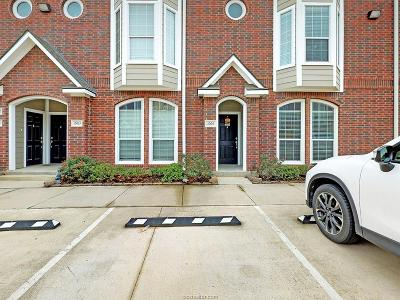 College Station Condo/Townhouse For Sale: 1198 Jones Butler Road #2009