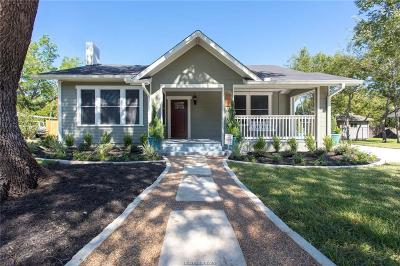 Bryan Single Family Home For Sale: 712 East 28th Street