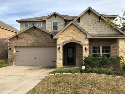 Brazos County Single Family Home For Sale: 2533 Warkworth Lane