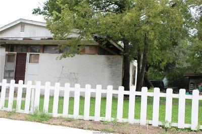 Brazos County Single Family Home For Sale: 408 West 28th Street