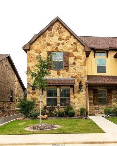 College Station Condo/Townhouse For Sale: 3322 Travis Cole #3322