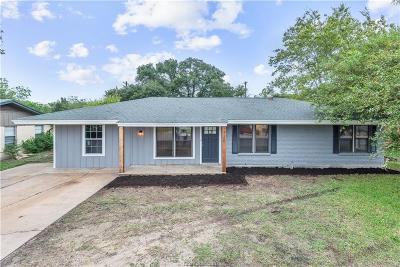 Bryan Single Family Home For Sale: 1720 East William J Bryan