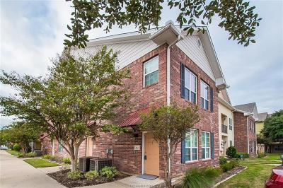 College Station Condo/Townhouse For Sale: 801 Luther Street #1405