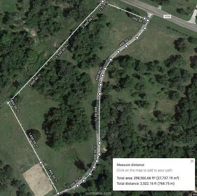 Caldwell Residential Lots & Land For Sale: Tract 1, 6.90 Ac Fm 3058