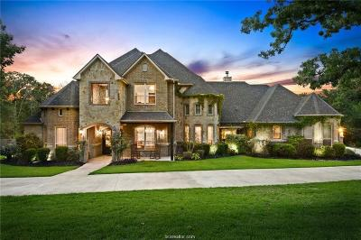 College Station TX Single Family Home For Sale: $1,075,000