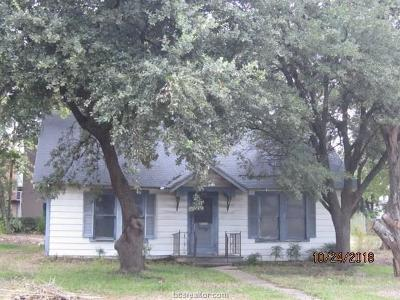 Hearne Single Family Home For Sale: 106 West Evans Street