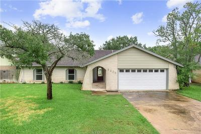 Bryan Single Family Home For Sale: 3905 Oak Bend Drive