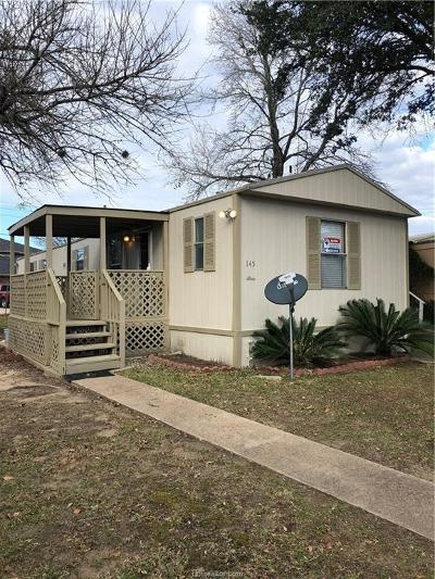 College Station TX Single Family Home For Sale: $25,000