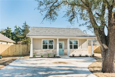 Bryan Single Family Home For Sale: 413 Wallace Street