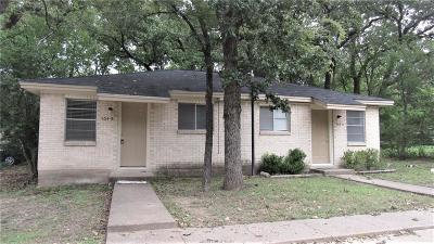 Brazos County Multi Family Home For Sale: 504 College Main A-B #A-B