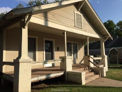 Bryan Single Family Home For Sale: 307 Robertson Street