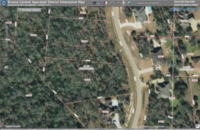 College Station Residential Lots & Land For Sale: 3419 Matoska Ridge Drive