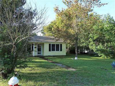 Bryan Single Family Home For Sale: 901 Boulevard Street