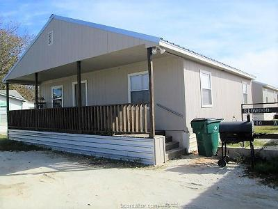 Robertson County Single Family Home For Sale: 700 A West Texas