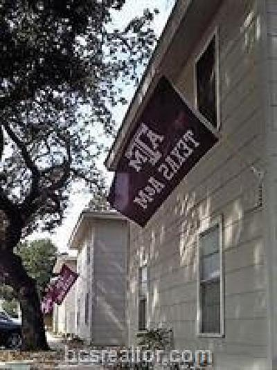 College Station Multi Family Home For Sale: 400/02/04/06/08/10 Wellborn Road #A-D