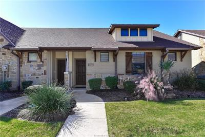College Station Condo/Townhouse For Sale: 3341 General Parkway
