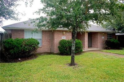 Bryan , College Station Multi Family Home For Sale: 909-911 Sun Meadow