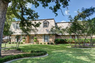 College Station Single Family Home For Sale: 3000 Brothers Boulevard