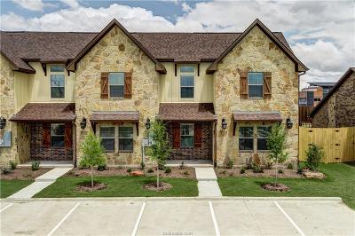 College Station Condo/Townhouse For Sale: 343 Newcomb Lane