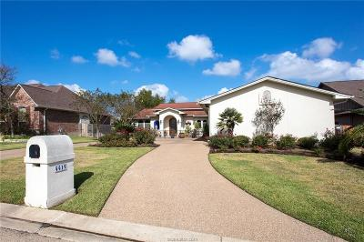 College Station Single Family Home For Sale: 4415 Amberley Place